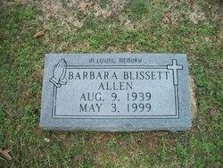 Barbara <i>Blissett</i> Allen