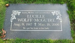 Lucille Lillian <i>Wolff -</i> McGuire