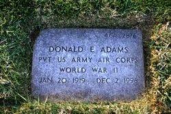 Donald E Adams