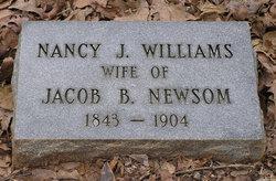 Nancy J <i>Williams</i> Newsom