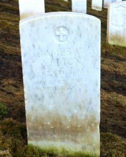 Pvt James W Yelton