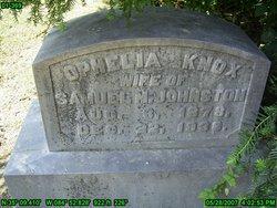 Ophelia <i>Knox</i> Johnston