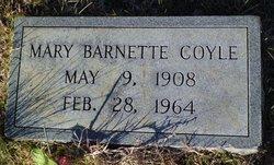 Mary Barnette <i>Steele</i> Coyle