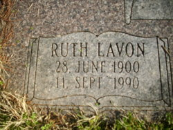 Ruth Lavon <i>Rogers</i> Riggs