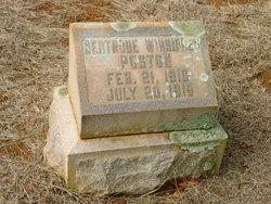 Gertrude Winnifred Poston