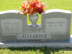 Norma Ailean <i>Reeves</i> Alexander