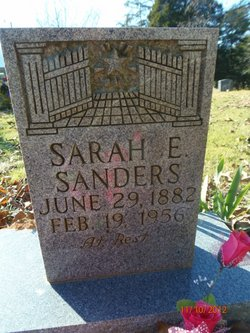 Sarah Ellen <i>Hill</i> Sanders