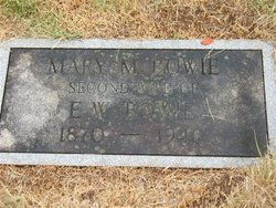 Mary M. <i>Gale</i> Bowie