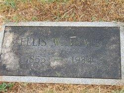 Ellis Watson Bowie