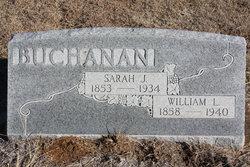 Sarah Jane <i>Jarvis</i> Buchanan