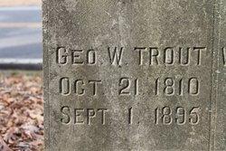 George Washington Trout, Sr