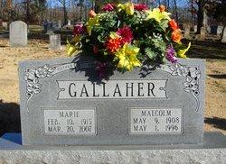 Marie <i>Clanton</i> Gallaher