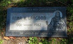 Anna Katherine <i>Brandt</i> Langdon