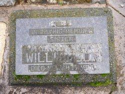 Sr Mary Gertrude Annunziata Williamson