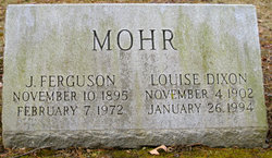 Louise <i>Dixon</i> Mohr