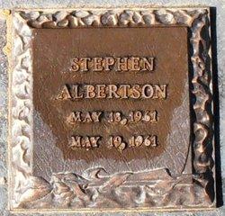 Stephen Eugene Albertson