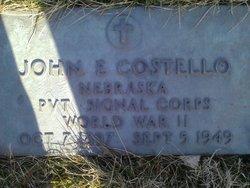 John E Costello
