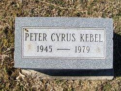 Peter Cyrus Kebel