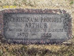 Christina M. <i>Procious</i> Arthur