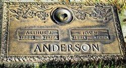 Arthur J Anderson