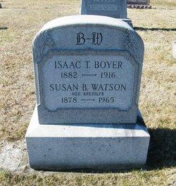 Isaac T Boyer