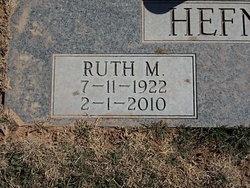 Ruth M Hefner