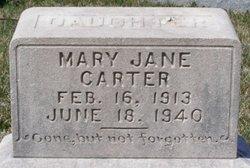 Mary Jane <i>LeMaster</i> Carter