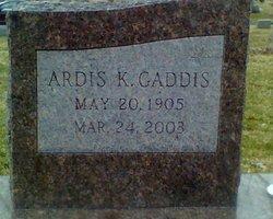 Ardis <i>King</i> Gaddis
