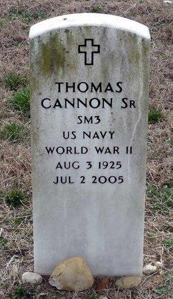 Thomas Cannon, Sr