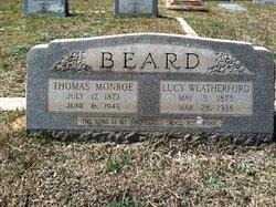 Lucy <i>Weatherford</i> Beard