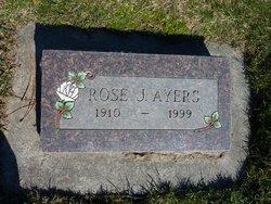 Rose Josephine <i>Ewing</i> Ayers
