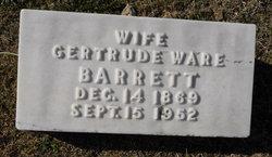 Nevada Gertrude <i>Ware</i> Barrett