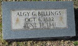 Algy G. Billings