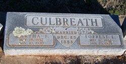 Martha Frances <i>Patrick</i> Culbreath