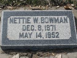 Nettie <i>Watson</i> Bowman
