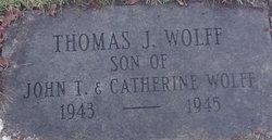 Thomas J. Wolff