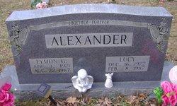 Lucy <i>Cates</i> Alexander