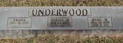Byrdie May <i>Peery</i> Underwood