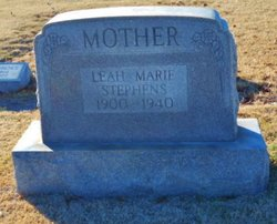 Leah Marie <i>Bricker</i> Stephens
