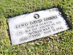 Corp Lewis David Dibbert
