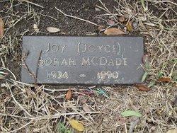 Joyce Nell <i>Borah</i> McDade