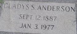Gladys S. Anderson