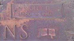 Violet D Adkins