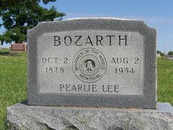 Pearlie Lee Bozarth