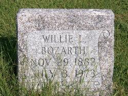 Willie L <i>Dameron</i> Bozarth