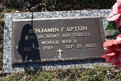Corp Benjamin F. Upton