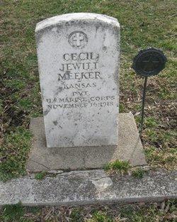 Pvt Cecil Jewitt Meeker