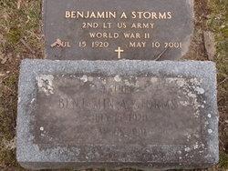 Benjamin A Storms