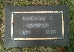 Dorothy T. Geissler