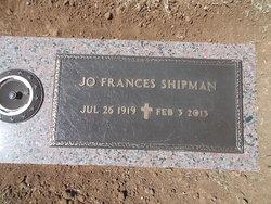 Jo Frances <i>Burnett</i> Shipman